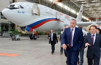 Рогозин: Ил-96-400 закроет потребности России в дальнемагистральных полетах