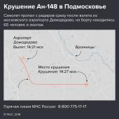 Крушение Ан-148 в Подмосковье