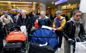 Москва-24: Шереметьево завалило чемоданами