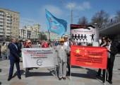 ШПЛС на первомайской демонстрации