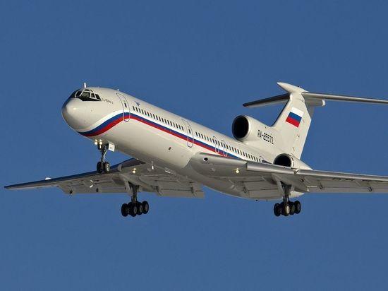 Минобороны России назвало причину крушения Ту-154 в Сочи