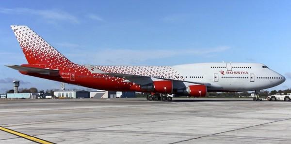 """Парк Boeing 747 авиакомпании """"Россия"""" вырос до пяти самолетов"""