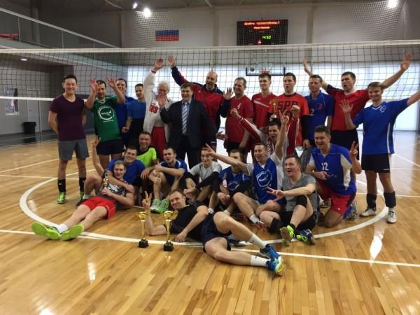 Прошло первенство ПАО «Аэрофлот» по волейболу