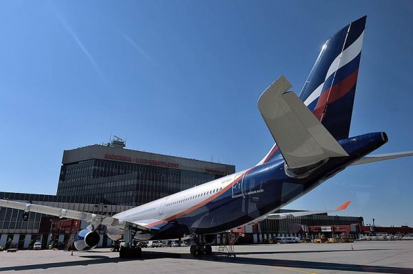 Самолеты буксуют в Шереметьево